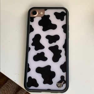 Wildflower cases Moo Moo iPhone 8 phone case🐄🐄